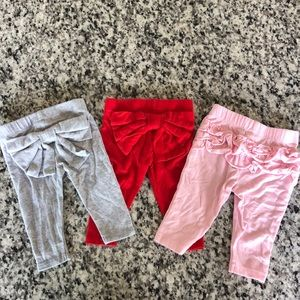 Cat & Jack, size 0-3 month baby girl pants